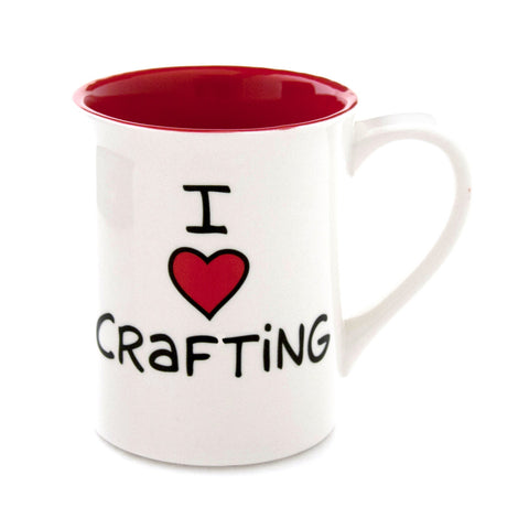 I Heart Crafting Mug