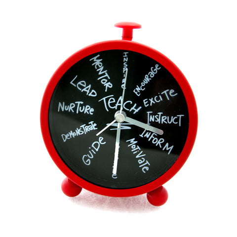 Teacher Desk Clock