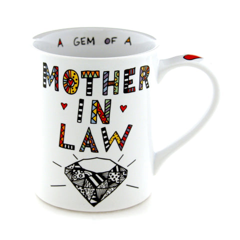 Cuppa Doodle Mother in Law Mug