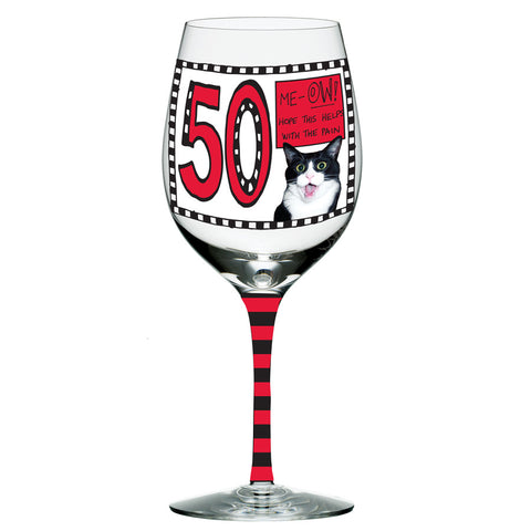 50 Glass Goblet Hoots