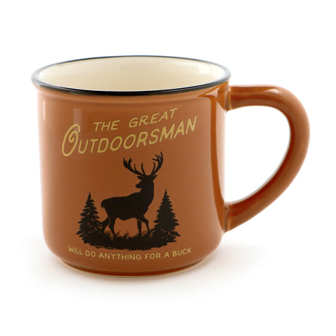 Deer Hunter Great Outdoorsman Mug