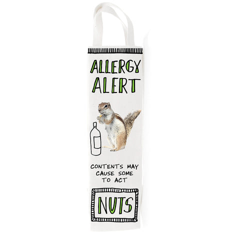 Allergy Alert Wine Bag- Hoots N' Howlers