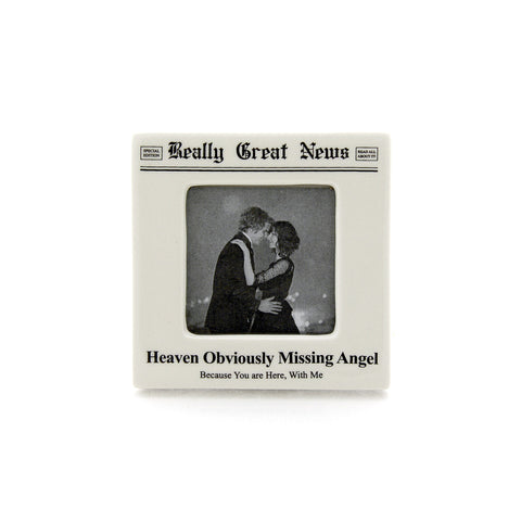 Angel Small Photo Frame- Really Great News