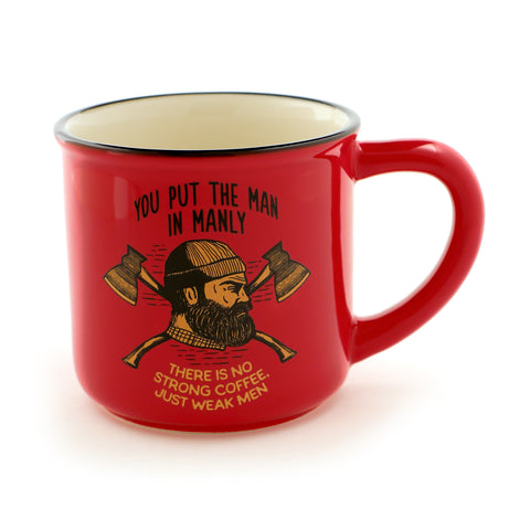 Bearded Lumberjack Manly Man Mug