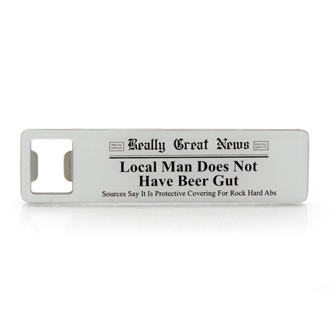 Beer Gut Bottle Opener Magnet