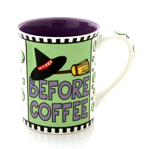 Before Coffee Wicked Mug