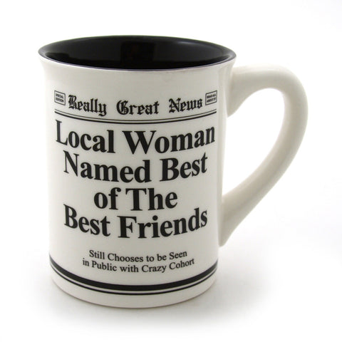 Best Friends Mug - Really Great News