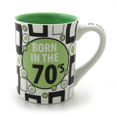 Born In The 70s Mug