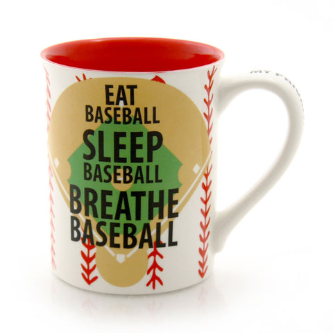 Breathe Baseball Mug