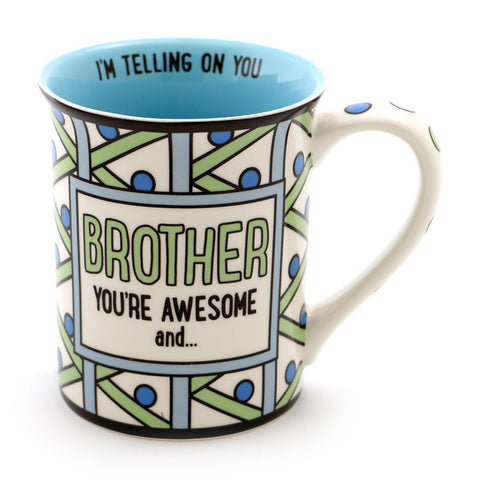 Brother You're Awesome Mug
