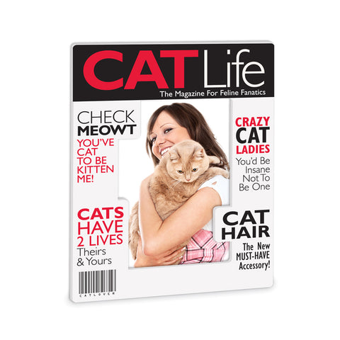 Cat Life Magazine Frame
