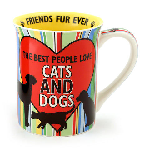 Cats and Dogs People Mug