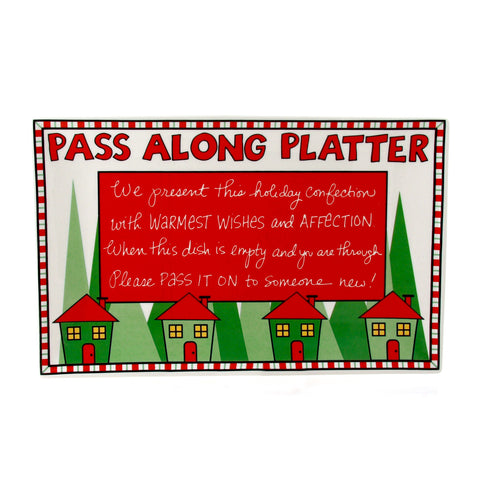 Christmas Passalong Platter