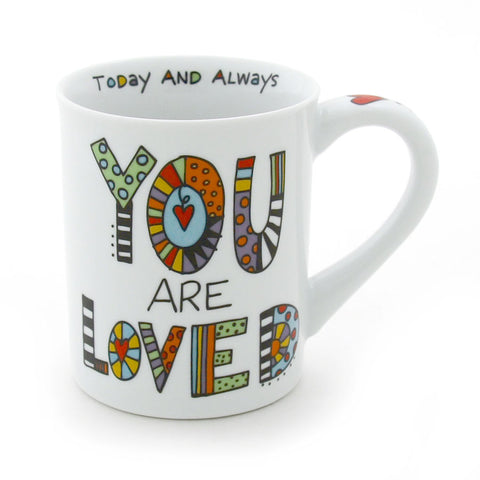 Cuppa Doodle You Are Loved Mug
