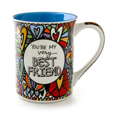 Cuppadoodle Very Best Friend Mug