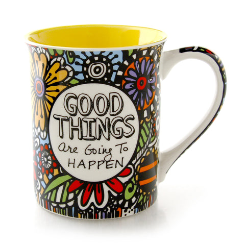 Cuppadoodle Good Things Mug