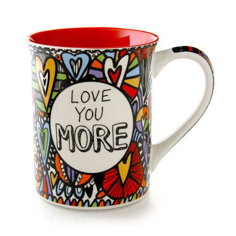 Cuppadoodle Love You More Mug