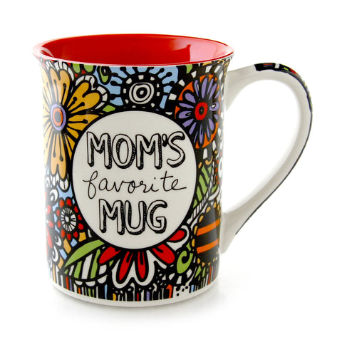 Cuppadoodle Mom's Favorite Mug