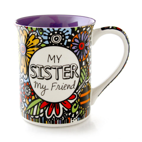 Cuppadoodle My Sister Friend Mug