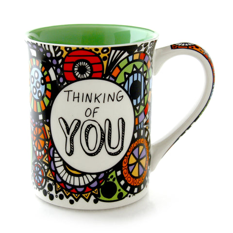 Cuppadoodle Thinking Of You Mug