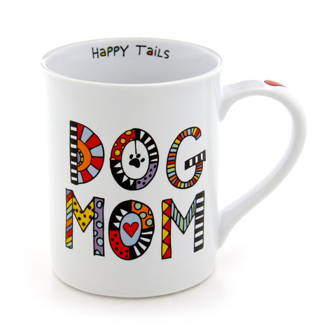Cuppadoodles Dog Mom Mug