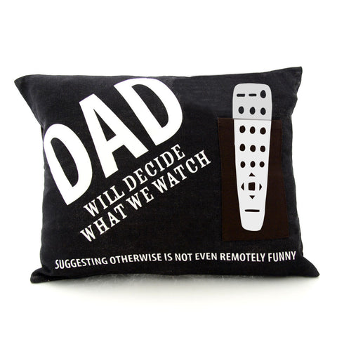 Dads Remote Pillow