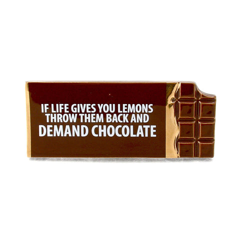 Demand Chocolate Plaque