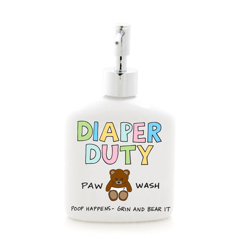 Diaper Duty Soap Dispenser