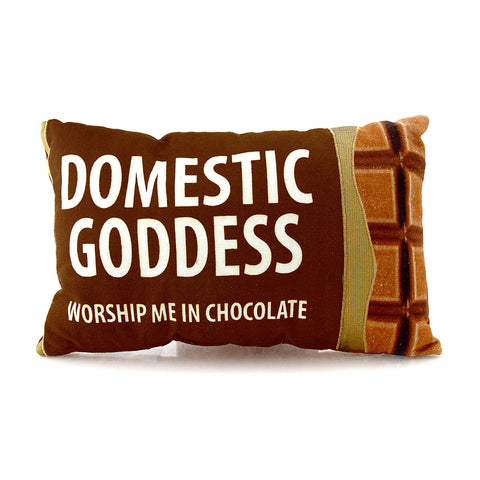 Domestic Goddess Pillow