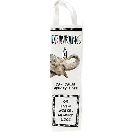 Drinking Elephant Wine Bag - Hoots N' Howlers