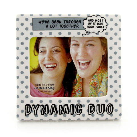 Dynamic Duo Photo Frame