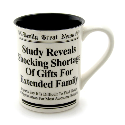 Extended Family Mug- Really Great News