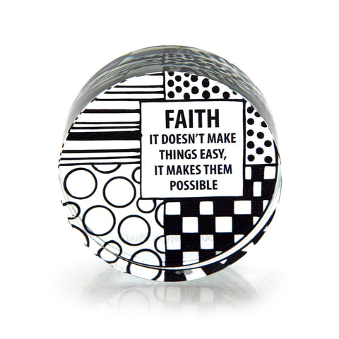 Faith Paperweight
