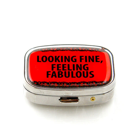 Feeling Fabulous Pill Box