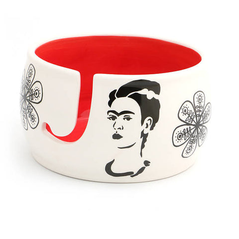 Frida Kahlo Yarn Bowl