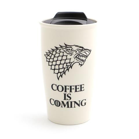 Game of Thrones Retro Eco Travel Mug - Limited Edition