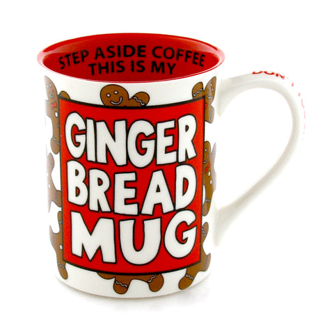 Gingerbread Recipe Mug