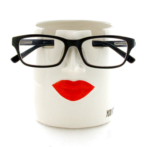 Lips Glasses Holder & Pencil Cup