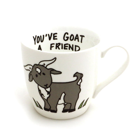 Goat mug You've Goat a Friend