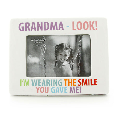 Grandma - Look! Photo Frame