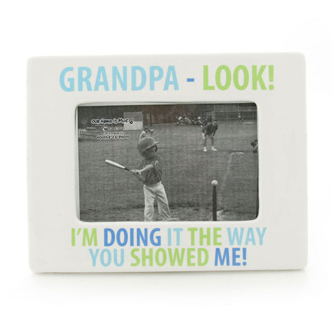 Grandpa -  Look! Photo Frame