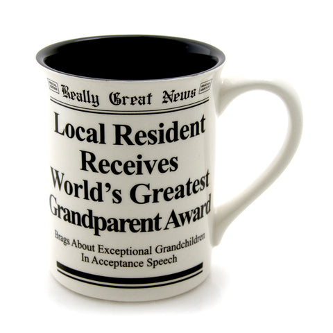 Grandparent Mug- Really Great News