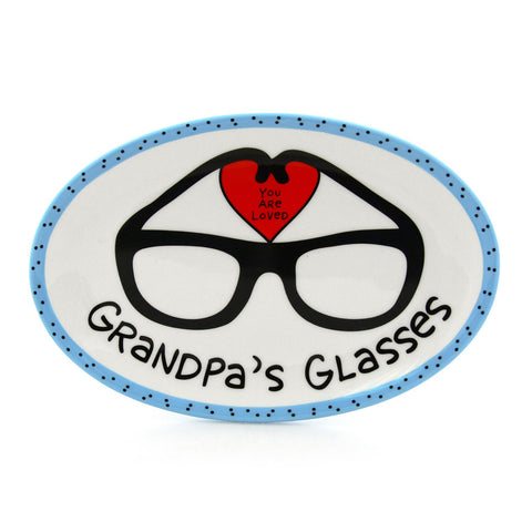 Grandpa's Glasses Tray