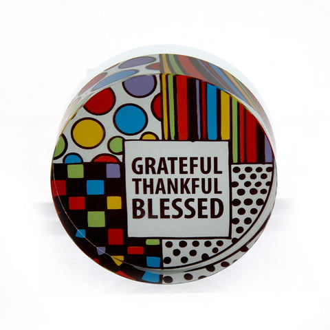 Grateful Paperweight