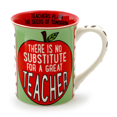 Great Teacher Apple Mug