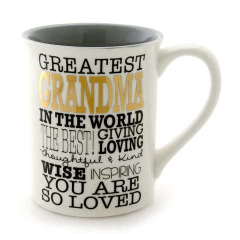 Greatest Grandma Gold Mug