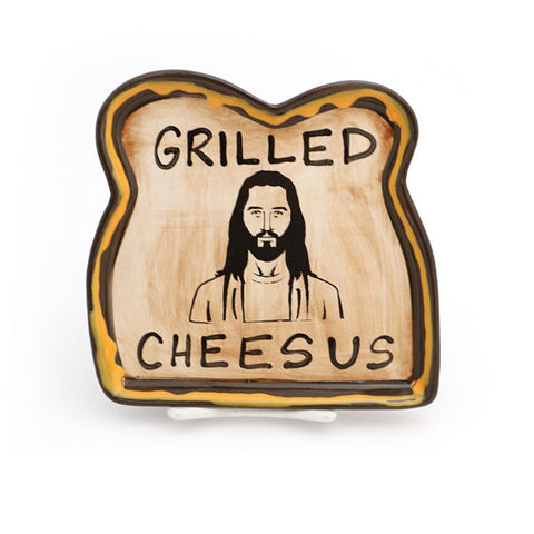 Grilled Cheesus (Jesus) Plate