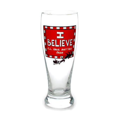 I Believe Glass Pilsner