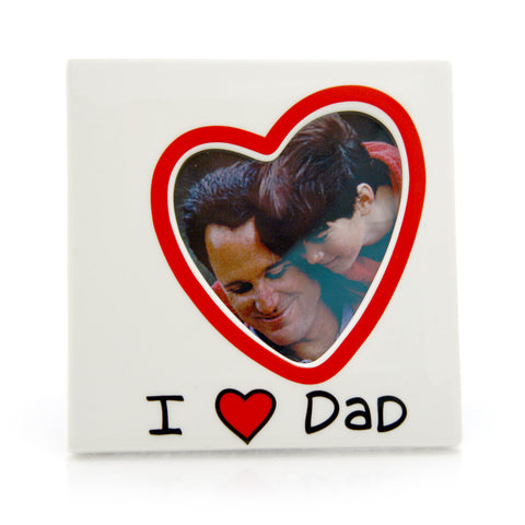 I Heart Dad Frame