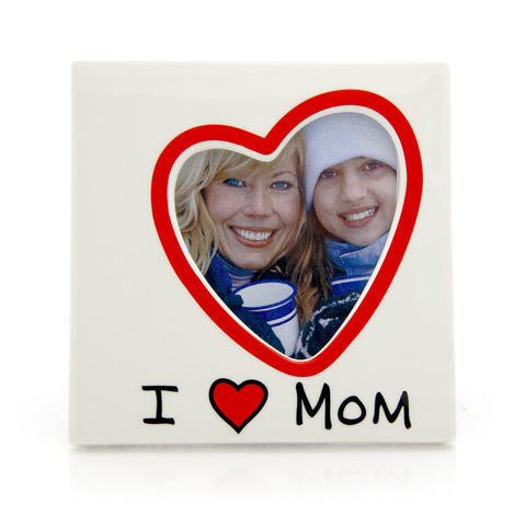 I Heart Mom Frame